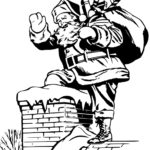 Old world Santa Claus coloring page