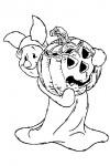 Piglet at halloween