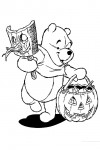 Pooh with a mask