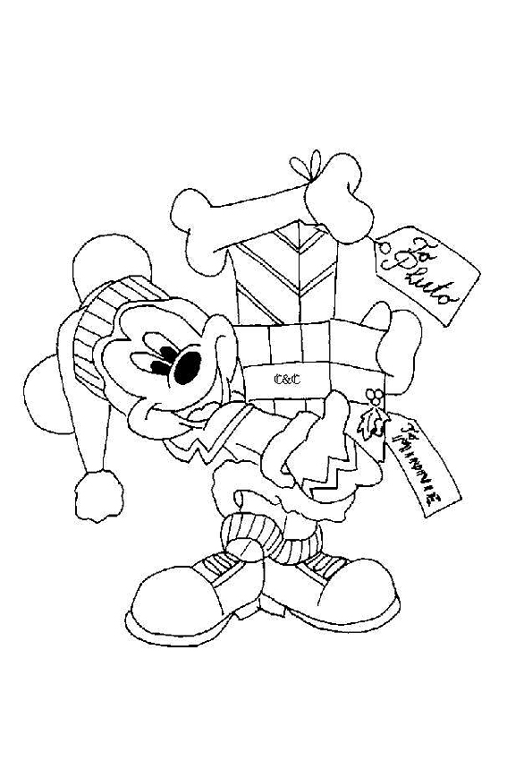 happy birthday mickey mouse coloring pages santa coloring page