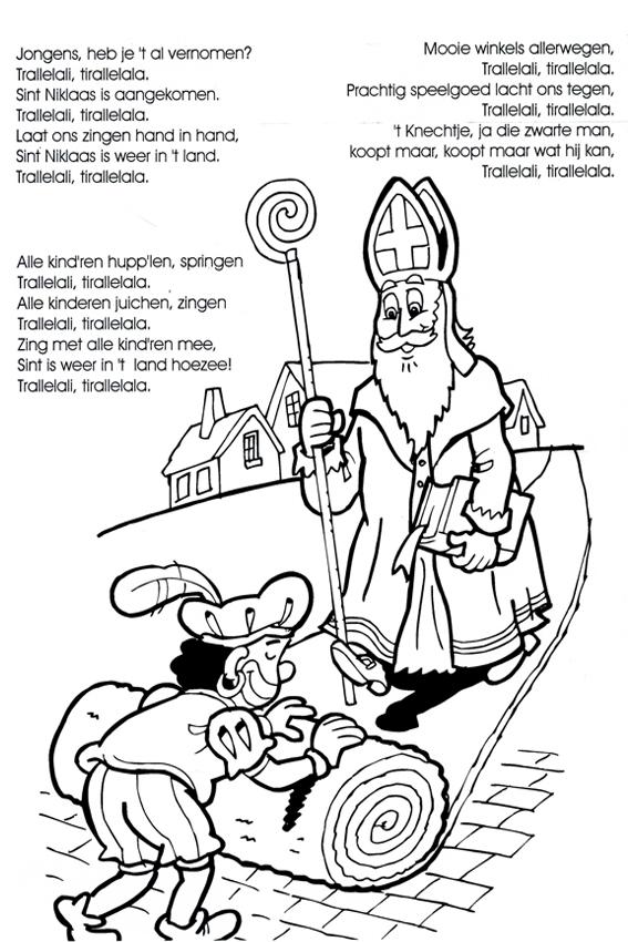 Sinterklaas Liedjes Om Luidkeels Te Zingen Voor Het Slapen