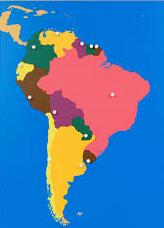 South America learning tool