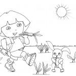 Dora in summer