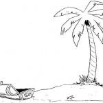 Palmtree with a treasure