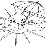 Sun or rain