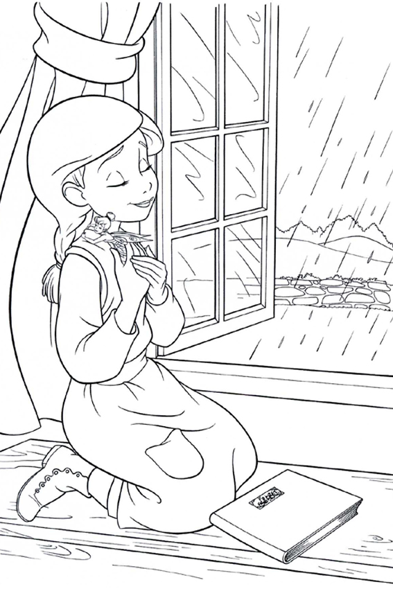 cool tinker bell coloring pages - photo#11