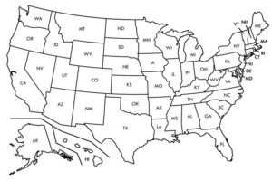 USA Learning map