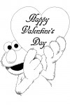 Valentine coloring pages 005