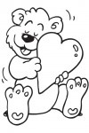 Valentine coloring pages 012