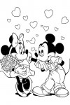 Valentine coloring pages 015