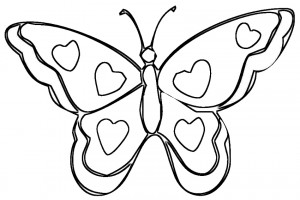 Valentine coloring pages 017