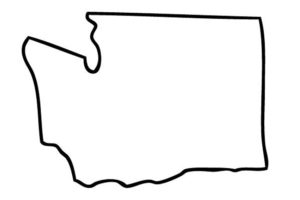blanco map of Washington