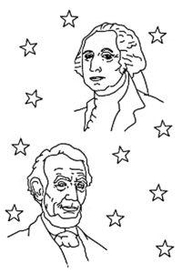 Washington coloring pages