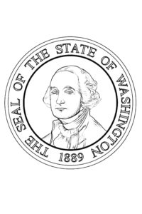 The Seal of The State of Washington 1889