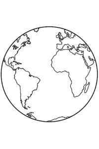 World coloring pages